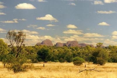 The Olgas/Kata Tjuta, Northern Territory, Australia, Aug. 2000