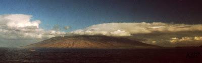Pu'u Kukui from Wailea, Maui Sep. 2003