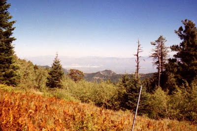 View from Mt. Lemmon, Arizona, Oct. 1994