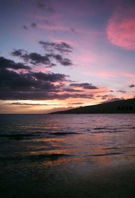 Sunset, Mai Poina Oe Iau Beach, Maui, October 2008