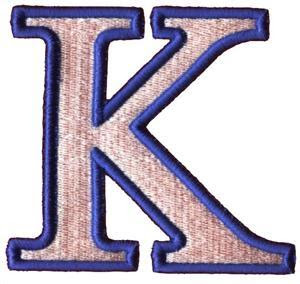 K Alphabet Letter Stacey's Incredible Kids, LLC: Letter K