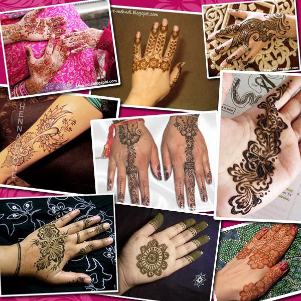 Koleksi Gambar Mehndi Henna Untuk Tangan Belajar Mehndi Inai Henna