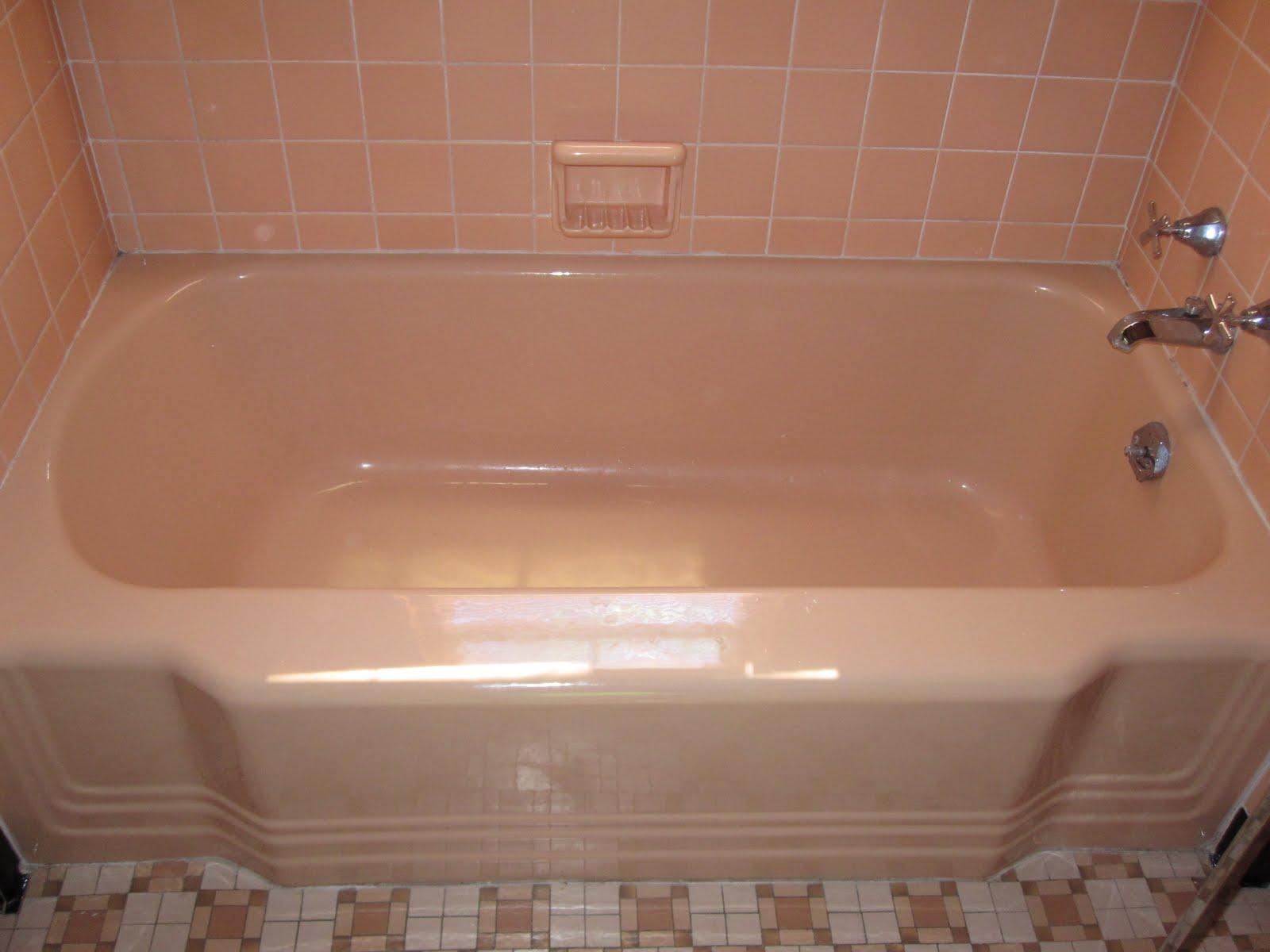 Life Of The Lorenzens Beautiful Bathtubs: peach bathroom