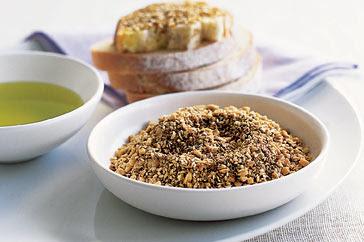 Dukkah , Dokka or Dükkah is an Egyptian dry mixture of chopped nuts ...