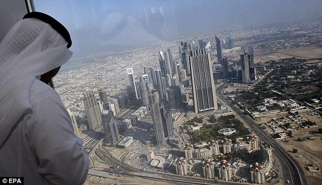dubai tower. Burj Dubai tower