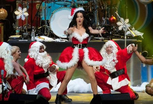 Katy Perry Santa Claus