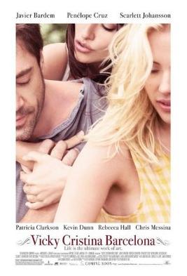 Vicky Cristina Barcelona Movie 2008 Poster