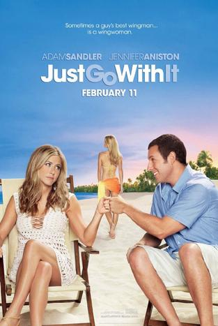 Just Go with It Movie 2011 Poster