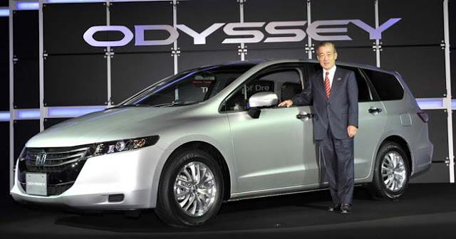 Burlappcar 2011 Honda Odyssey