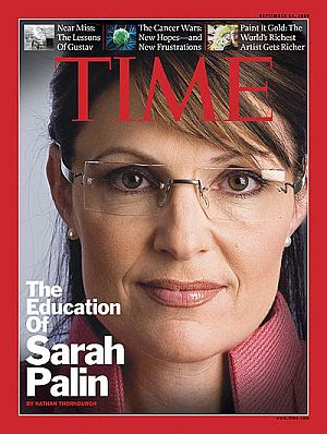 palin time magazine