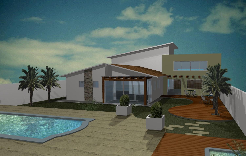 Design todo o dia imagens 3d casa completa for Amueblar casa completa