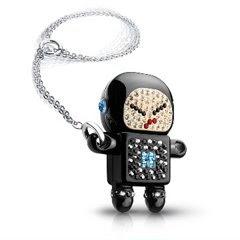 Swarovski Crystal Robot Naughty Raymond USB Memory Key