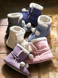 Victoria's Secret Fleece Booties