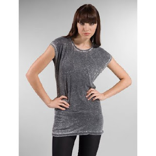 Revolveclothing.com Kova & T Amsterdam Tee in Burnout Black