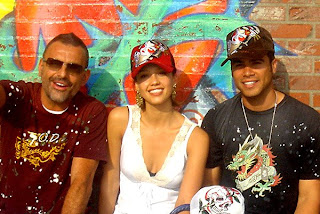 Ed Hardy Christian and Jessica Alba