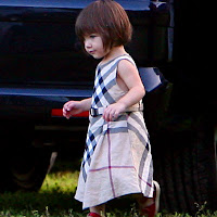 Suri Cruise Plaid Dress