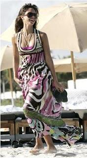 Jessica Alba Maxi Dress