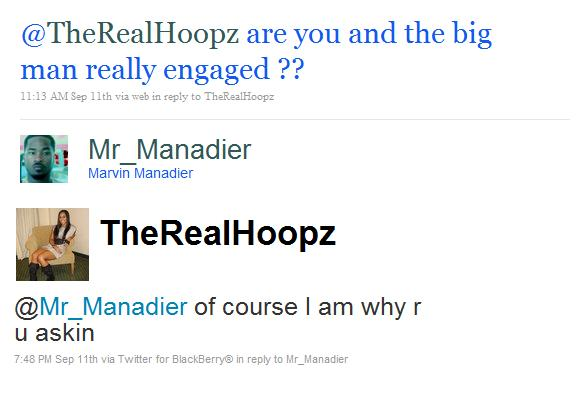 shaq and hoopz. Hoopz to marry him. Shaq#39;s
