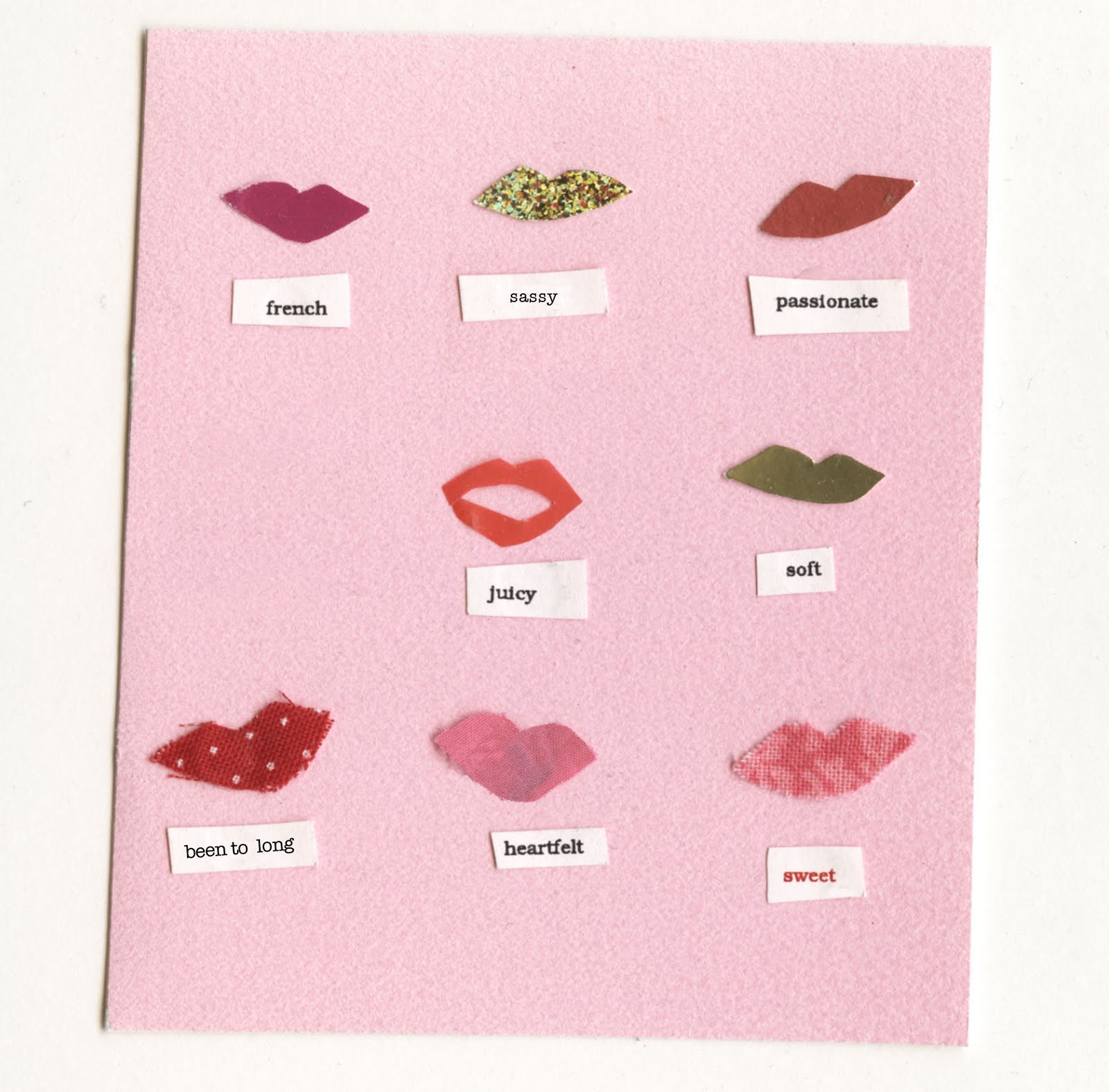 types of kissers