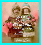 Vintage 2008 Christmas Stocking Swap