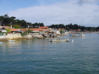 Canon, one of Cap Ferret's fishing villages