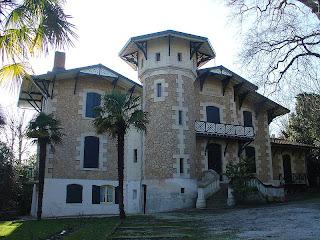 Villa Bremontier in the Winter City in Arcachon