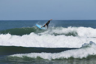 Surfer in Biarritz
