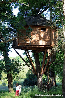 Tree house Menoy in Léon