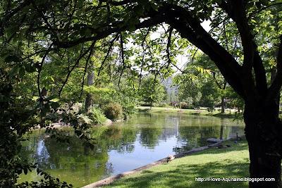 Jardin Public in Bordeaux