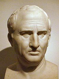 Marcus Tullius Cicero, B. Jan. 3, 106 BC - D. Dec. 7,  43 BC