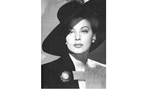 Ava Gardner, B. Dec. 24, 1924 - D. Jan. 25, 1990