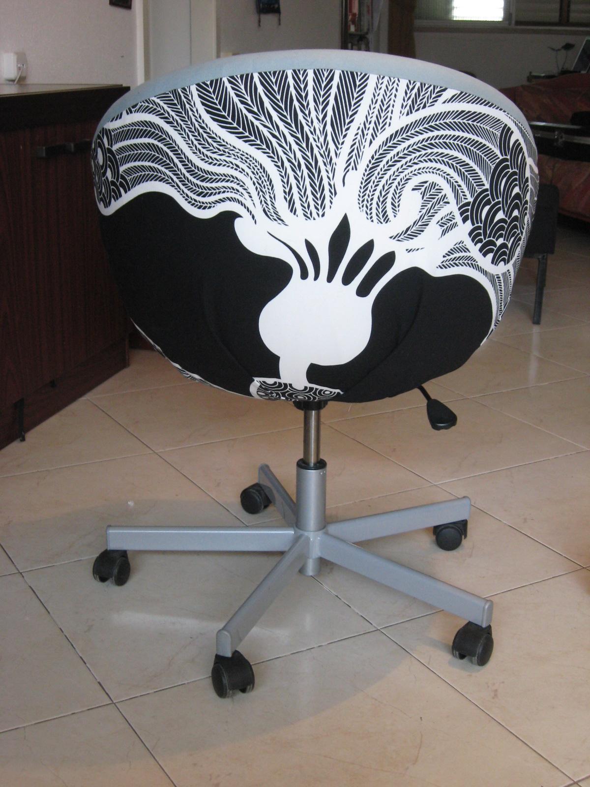 Skruvsta office chair makeover IKEA Hackers IKEA Hackers