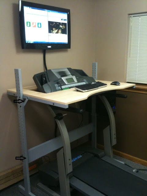 jerker treadmill desk. Black Bedroom Furniture Sets. Home Design Ideas