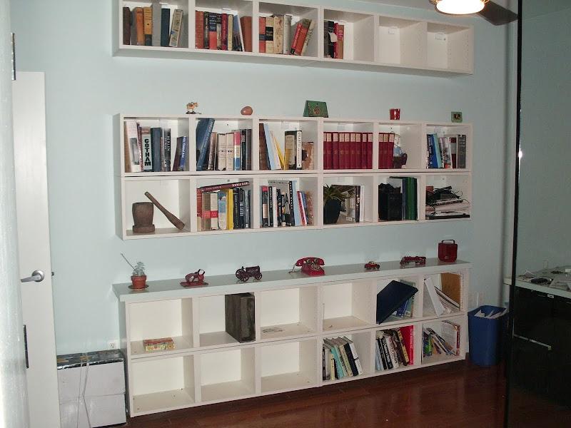 IKEA Billy Wall Shelf Hack