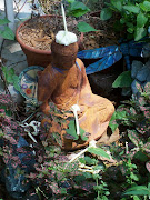 Nashville Buddha with Moonflower Hat