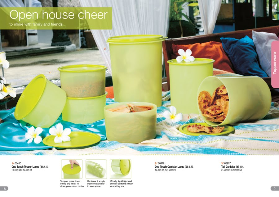 tupperware party catalog