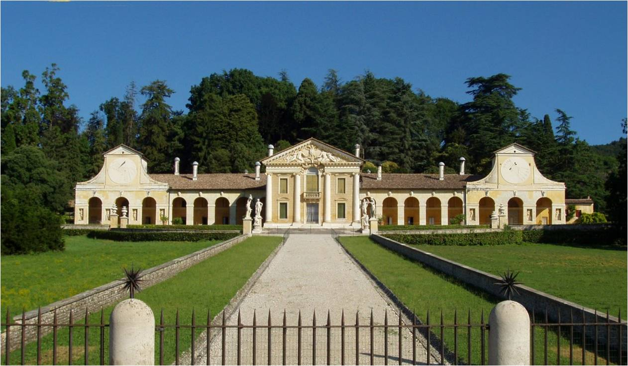 Villa Barbaro Plan Villa Barbaro Also Known as