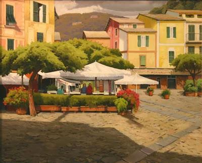 Paintings by Ramon Pujol Spanish Artist