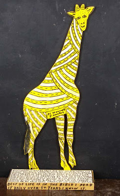 Howard Finster. Giraffe