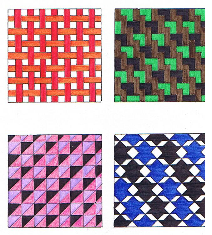 Dise o de mosaicos con base cuadrada casa dise o for Disenos para mosaicos