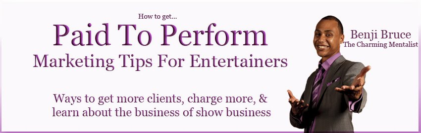 How to get paid to perform