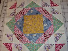 Block 3 of David's quilt