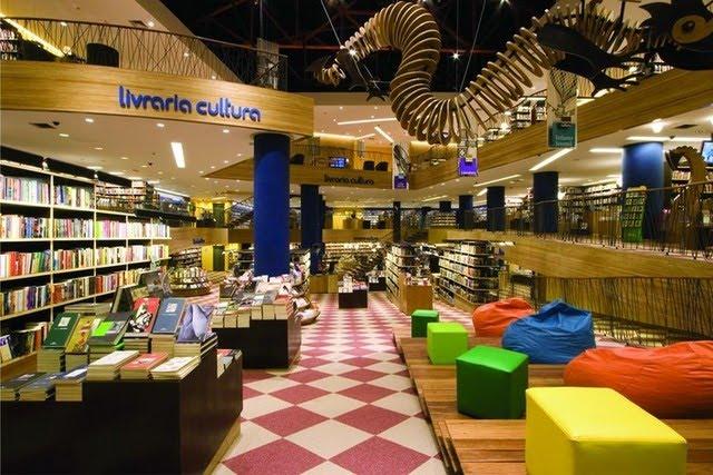 Livraria Cultura en Sao Paulo