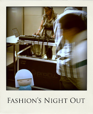 Raimundinha no Fashion's Night Out Lisboa