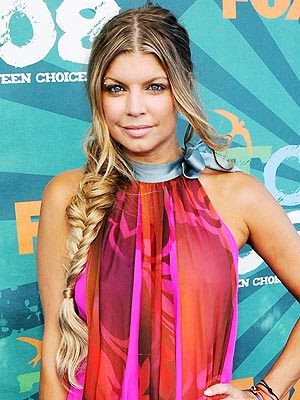 fergie fishtail braid photo art, hd wallpaper