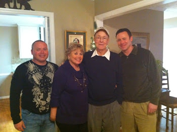 Joe, Bonnie with sons, Keith and Mike