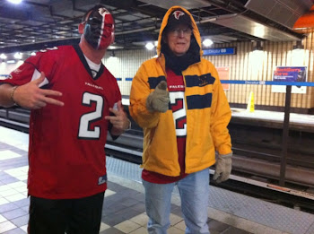 Joe and Keith waiting for MARTA to get to the DOME