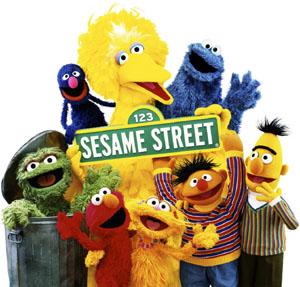 sesame street characters telly  Happy Birthday Sesame Street!