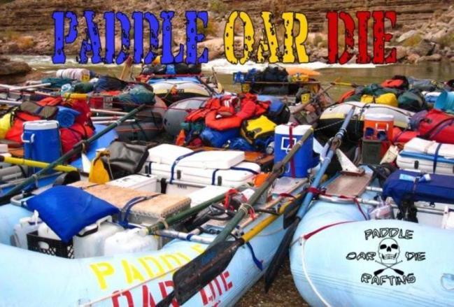 Paddle Oar Die Rafting