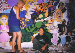 Jesse and Jeby ( Mother and son) painting